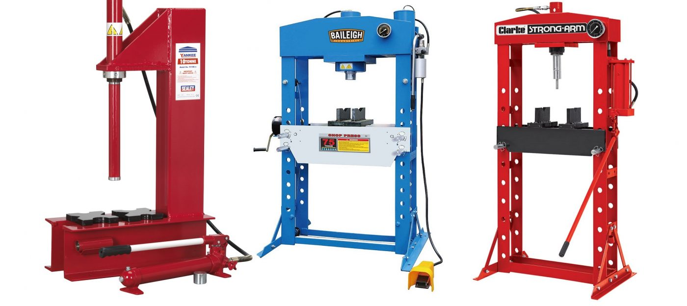 Hydraulic bench presses