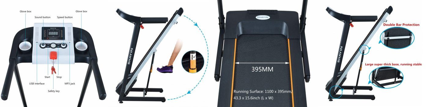 Folding Home Treadmill