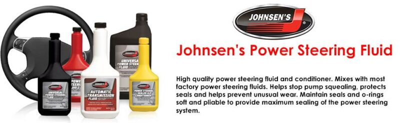 johnsens power steering fluid