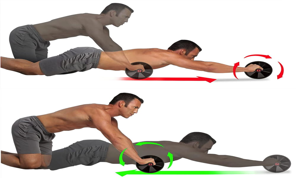 Ab Roller Wheel for Abs Workout Fitnessery