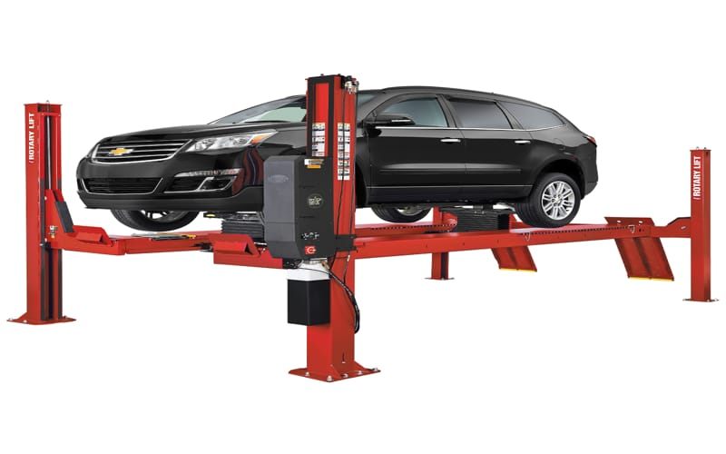 4 Post Car Lift 1