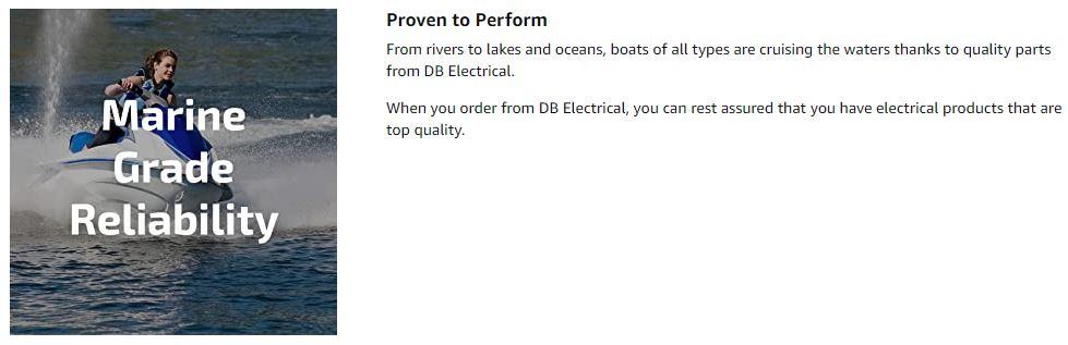 DB Electrical Tilt Trim Motor TRM0089