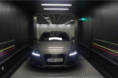 traction car elevator