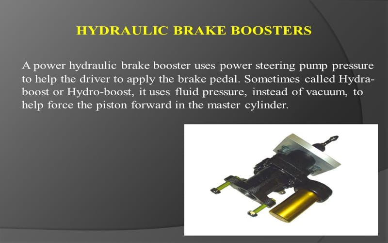HOW TO DO HYDRAULIC BRAKE BOOSTERS WORK
