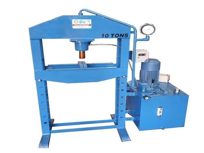 hydraulic press so powerful