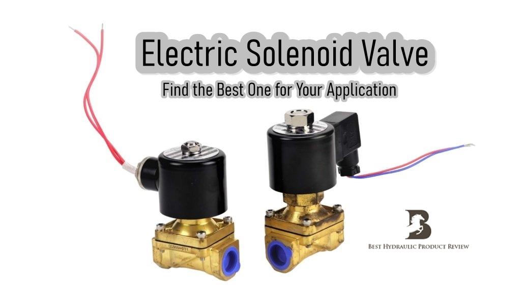 Electric Solenoid Valve 1