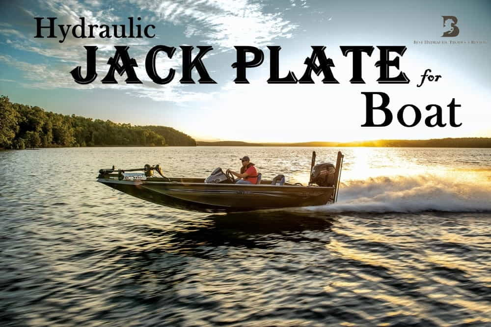 Hydraulic jack plate for boat